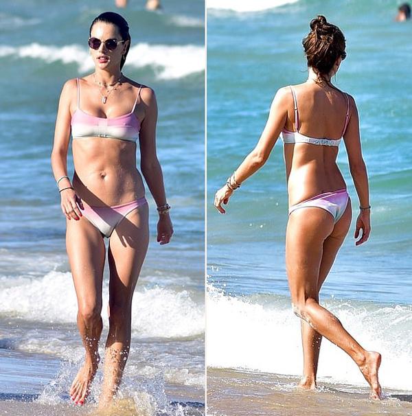 Alessandra từng là người mẫu của Victorias Secret từ năm 2004 đến 2017. Cô cũng làm gương mặt đại diện cho nhiều thương hiệu thời trang cao cấp như Next, Armani Exchange, Christian Dior hay Ralph Lauren... Alessandra là một trong những người mẫu áo tắm đắt giá nhất thế giới hiện nay. Đầu năm 2018, cô ra mắt thương hiệu đồ bơi riêng mang tên GAL Floripa.