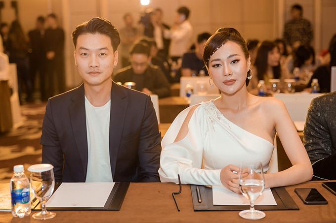 Trọng Lân và Phương Oanh hội ngộ. Cả hai từng cùng tham gia phim Quỳnh búp bê của đạo diễn Mai Hồng Phong.