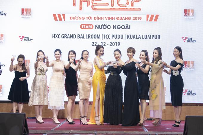 Chuỗi sự kiện Trips to the top diễn ra tại Malaysia.