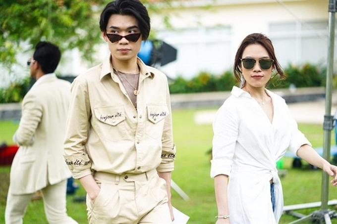 Quang Trung được yêu thích với vai chàng thư ký đồng tính dễ thương trong Chị trợ lý của anh, đóng chung với Mỹ Tâm.