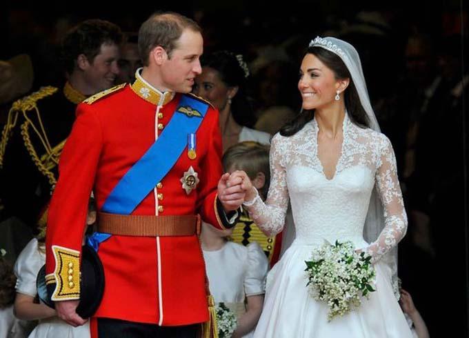 William và Kate trong đám cưới cổ tích năm 2011.