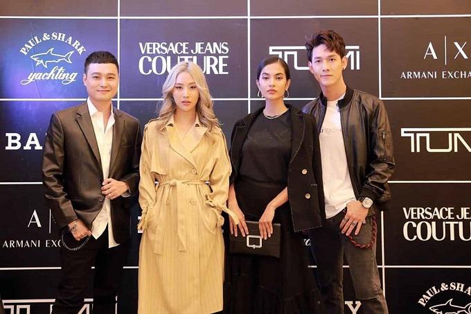 Sao Việt dự lễ khai trương 5 thương hiệu thời trang lớn