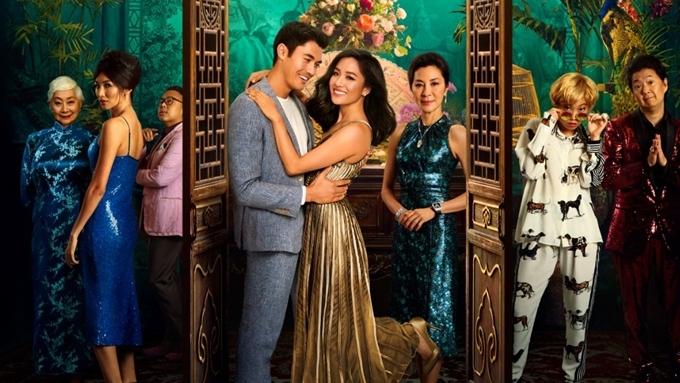 Dàn sao trong phim Con nhà siêu giàu châu Á.