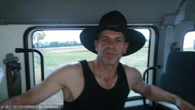 Osman Shaptafaj trước khi bắn chết con gái và con rể ở Yarraville, Melbourne, Australia.