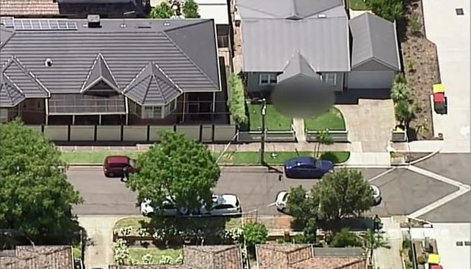 Ngôi nhà ở Yarraville, phía tây Melbourne, nơi xảy ra thảm sát sáng 31/12. Ảnh: Nine.