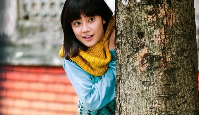 Hoàng Yến Chibi đáng yêu trong phim Tháng năm rực rỡ.