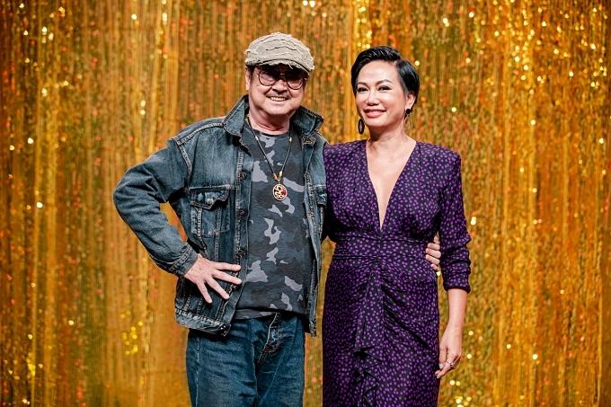 Kim Khánh dành nhiều sự ngưỡng mộ và yêu mến cho cố nghệ sĩ Chánh Tín.