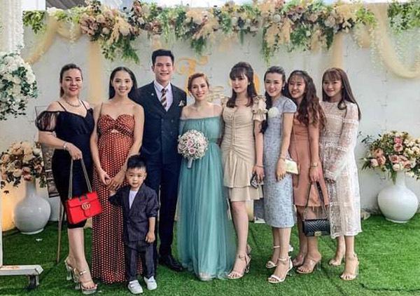 Minh Anh làm đám cưới với vợ 9X ở Kiên Giang, sáng 4/1.