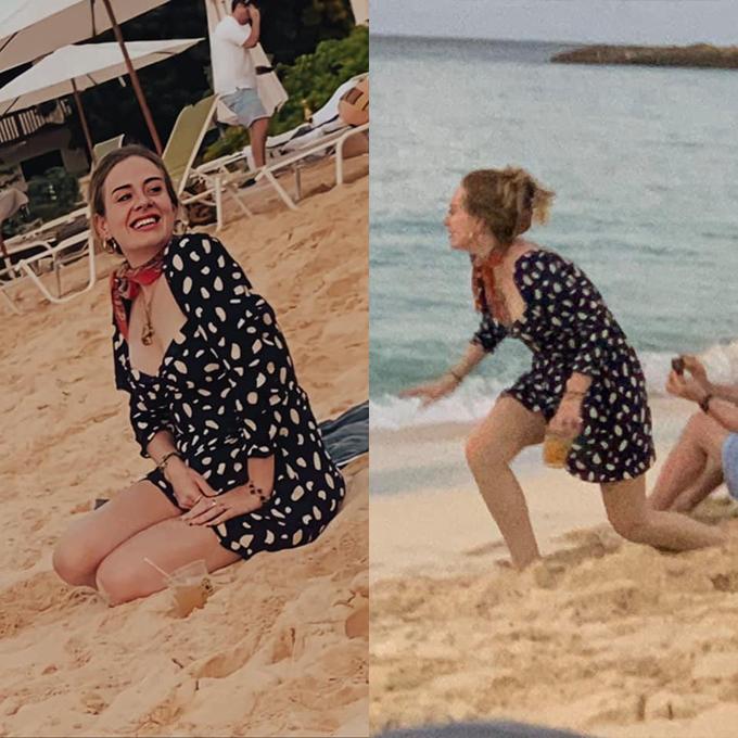 Adele tự hào với vóc dáng mới và đang tận hưởng cuộc sống độc thân.