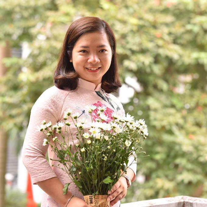 Chị Nguyễn Thị Bích Lệ (33 tuổi, Hà Đông, Hà Nội) có niềm đam mê bếp núc