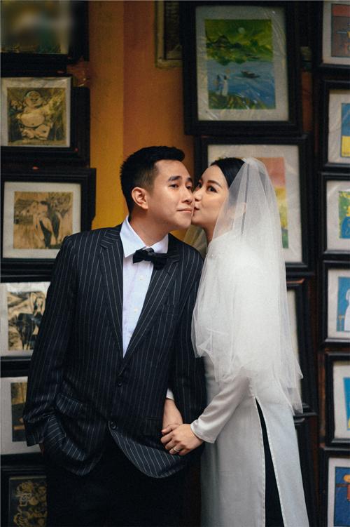 Chồng sắp cưới của Mi Vân làm về ngành in.