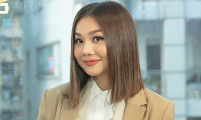 Thanh Hằng vẫn giữ được nhan sắc trẻ trung ở tuổi 38.