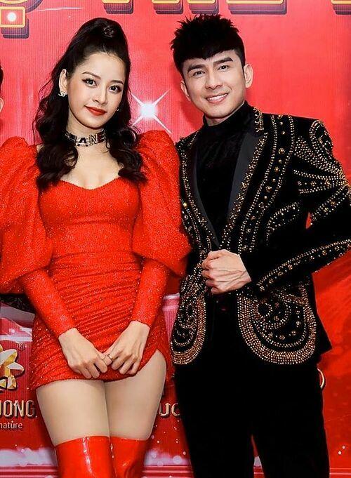 Đan Trường hội ngộ Chi Pu trong một show diễn chung.