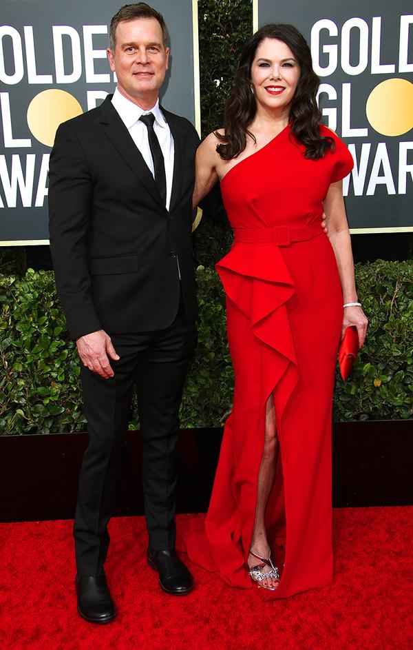 Nữ diễn viênGilmore Girls Lauren Graham hiếm hoixuất hiện cùng ông xãPeter Krause.