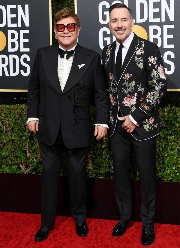 Elton John và bạn đời đồng giới DavidFurnish.