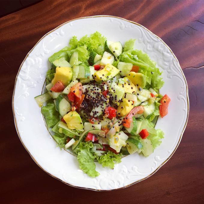 Các bữa ăn Tây chuẩn nhà hàng 5 sao của mẹ doanh nhân - 5