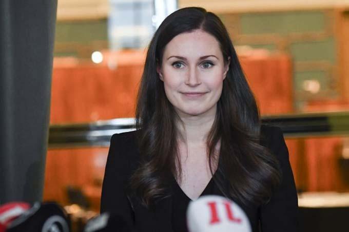 Thủ tướng Phần Lan Sanna Marin. Ảnh: EPA.