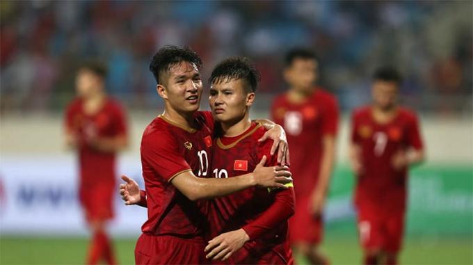 Giới truyền thông và người hâm mộ đang nóng lòng chứng kiến màn thể hiện của Quang Hải cùng các đồng đội tại giải U23 châu Á 2020. Ảnh: AFC.