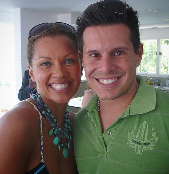 Vanessa Williams và Silvio Horta.