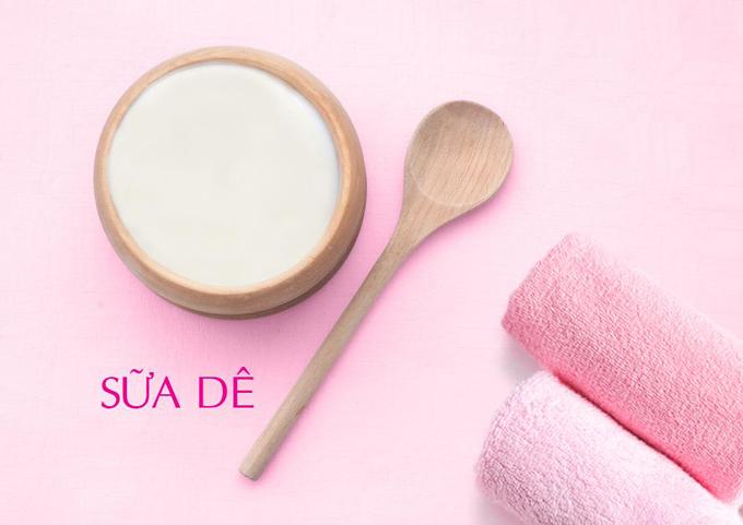 Sữa Dê giúp dưỡng trắng da hiệu quả và cung cấp độ ẩm cho da mịn màng