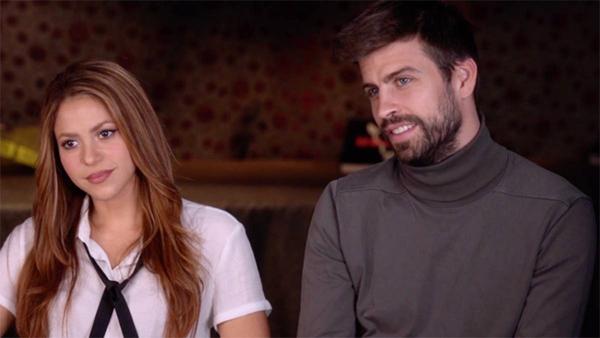 Shakira và Pique trong cuộc phỏng vấn với 60 Minutes.