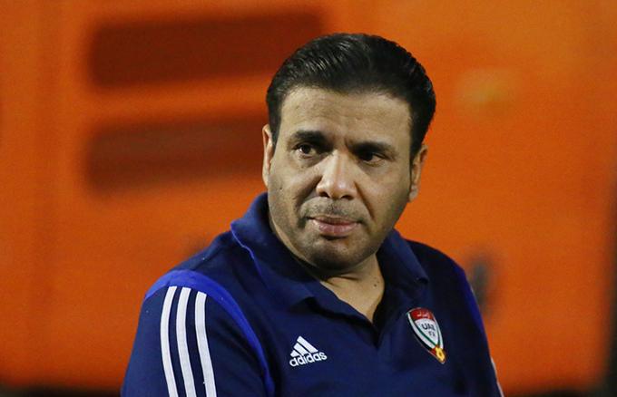 ÔngJamal Bohindi - Trưởng đoàn U23 UAE. Ảnh: Lâm Thoả.