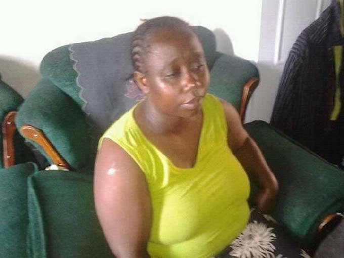Edna Mukwana tuyên bố không muốn quay lại với chồng sau khi bắt gặp anh ta và một phụ nữ khác trên giường ngủ của vợ chồng cô. Ảnh: