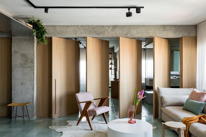 Căn hộ được thiết kế bởi kiến trúc sư Nildo Jose, hoàn thiện năm 2019.