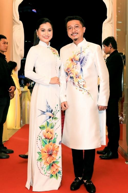 Vợ chồng Lâm Vỹ Dạ - Hứa Minh Đạt.