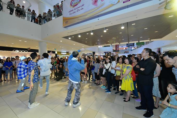 Sự có mặt của Da LAB thu hút các khách hàng tới SC Vivo City cuối tuần qua.