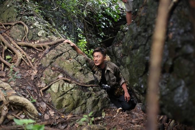 Dương Minh trong một cảnh phim.