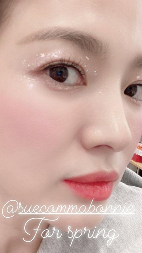 Làn da như da em bé của Song Hye Kyo.