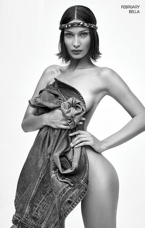 Bella Hadid kém chị gái một tuổi, cũng là một trong những chân dài hot nhất thế giới. Bella có đường cong và phong cách sexy hơn chị.