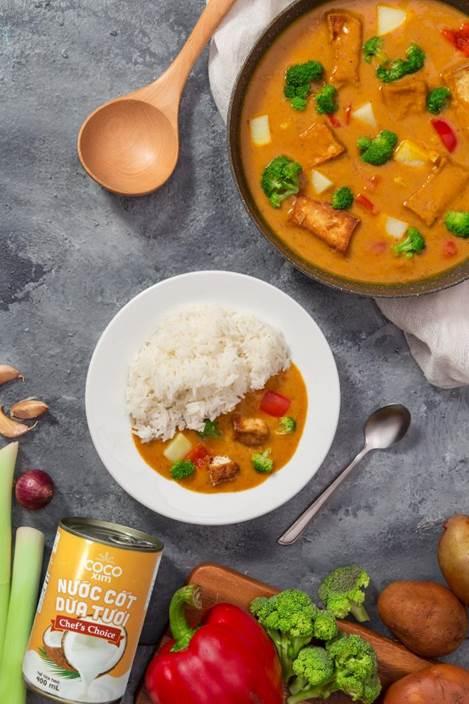 Cocoxim chuyên trị những món mặn béo vị khó tính như cà ri