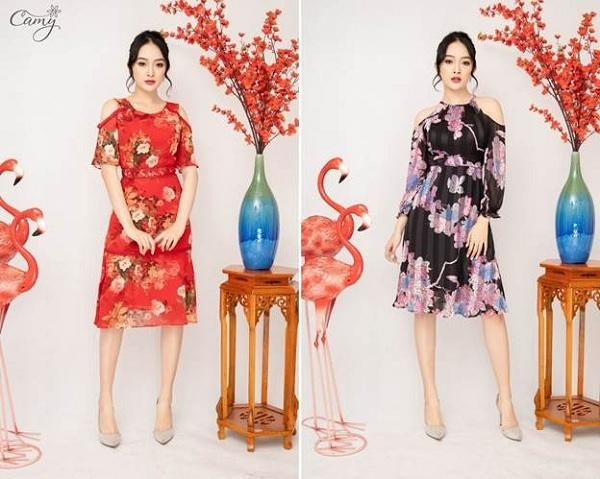 Với mong muốn giúp phụ nữ Việt Nam không chỉ đẹp trong môi trường làm việc, cuộc sống đời thường mà còn trở nên sang trọng và quý phái trong các bữa tiệc quan trọng, Camy mang tới dòng sản phẩm dạ hội với thiết kế cầu kỳ, tỉ mỉ.