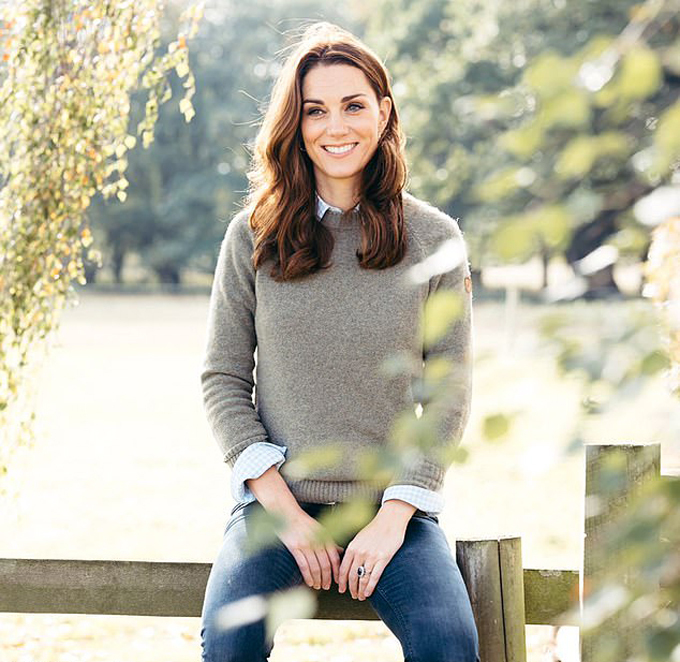 Bức ảnh Kate ở Anmer Hall vào mùa thu năm 2018 được sử dụng để mừng sinh nhật tuổi 38 của cô hôm 9/1. Ảnh: Instagram.