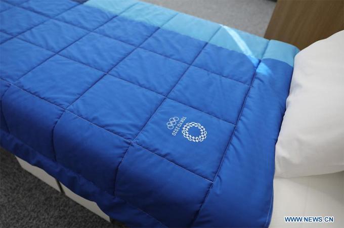 Chiều dài của giường cũng lên tới 210 cm, được cho là đáp ứng cho những VĐV có chiều cao khủng.