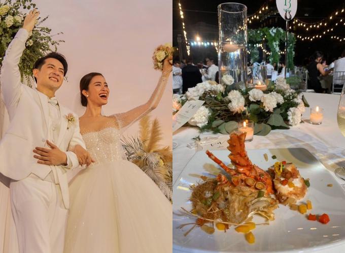 Cặp sao nổi tiếng kết hôn sau 10 năm gắn bó với sự góp mặt của khoảng 500 khách mời.