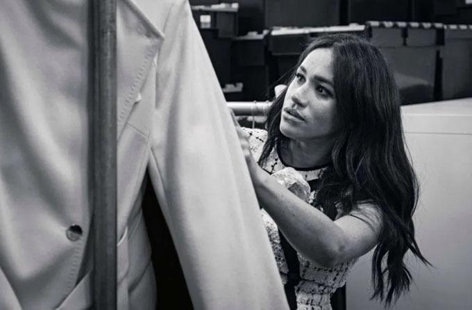 Meghan có sức ảnh hưởng lớn với thời trang kể từ khi bước chân vào hoàng gia. Ảnh: AFP.