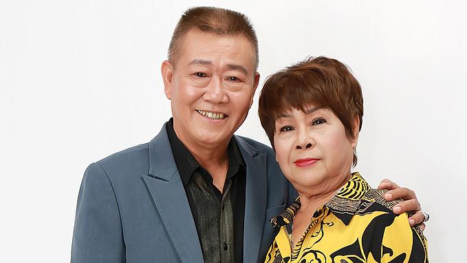 Vợ chồng nghệ sĩ Vũ Thanh - Lệ Hải.