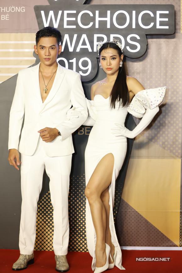 Phương Trinh Jolie và Lý Bình.