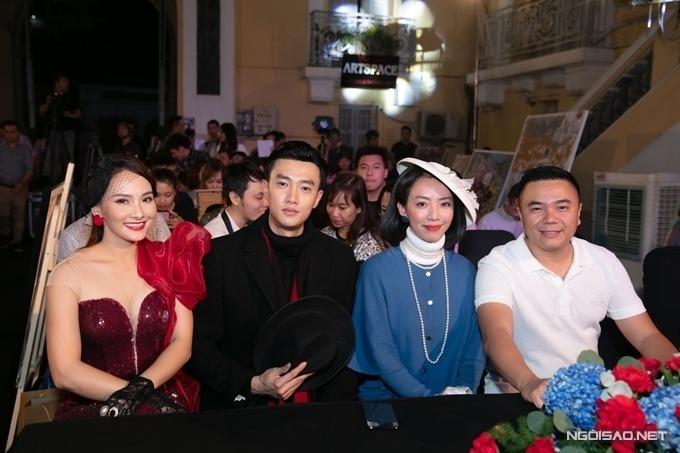 Từ trái qua: Bảo Thanh, Quốc Trường, Thu Trang và đạo diễn Nhất Trung.