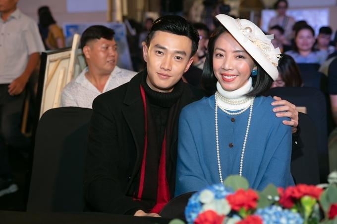 Thu Trang và Quốc Trường vào vai vợ chồng.