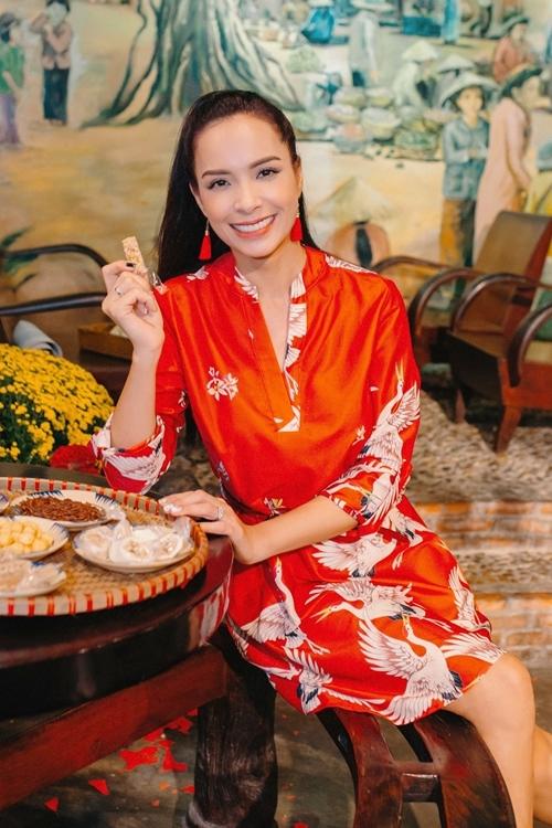 Cựu người mẫu Thúy Hạnh.