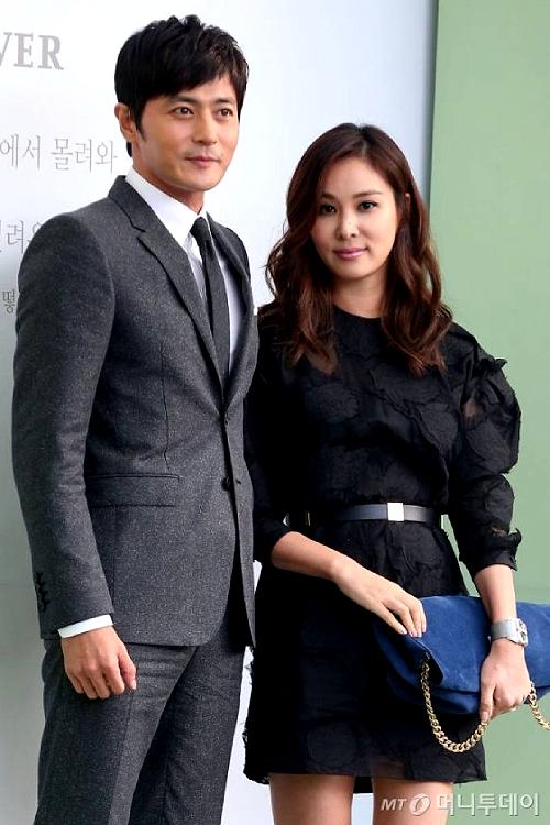 Jang Dong Gun và vợ, diễn viên Go So Young.