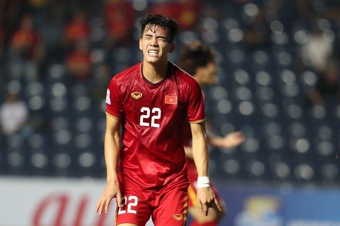 Tiến Linh (ảnh) hay Đức Chinh dù nỗ lực nhưng chưa thể ghi bàn ở giải năm nay. Ảnh: Đức Đồng.
