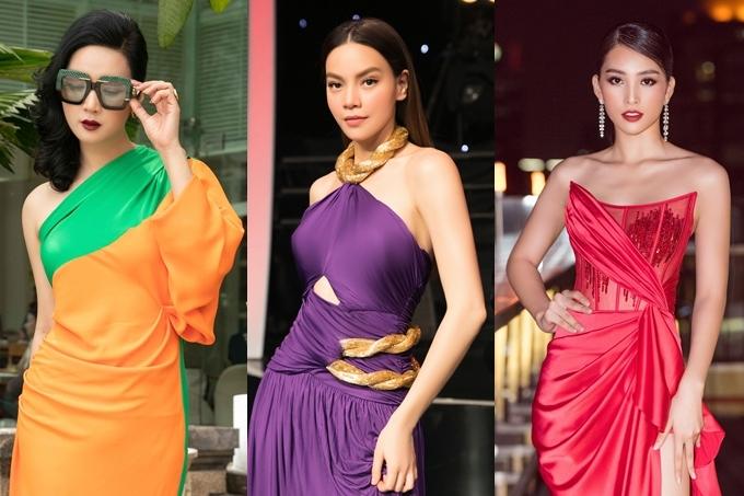 Từ trái qua: hoa hậu Giáng My, ca sĩ Hồ Ngọc Hà, hoa hậu Tiểu Vy sẽ góp mặt ở lễ trao giải.