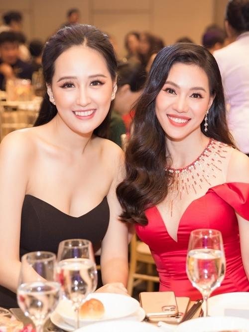 Mai Phương Thúy hội ngộ bà Phạm Kim Dung - trưởng ban tổ chức Hoa hậu Thế giới Việt Nam 2019.