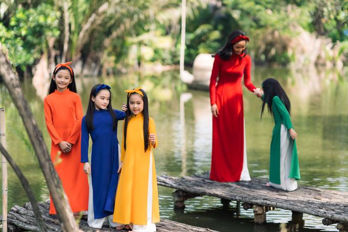 HHen Niê diện áo dài Thuận Việt - 2