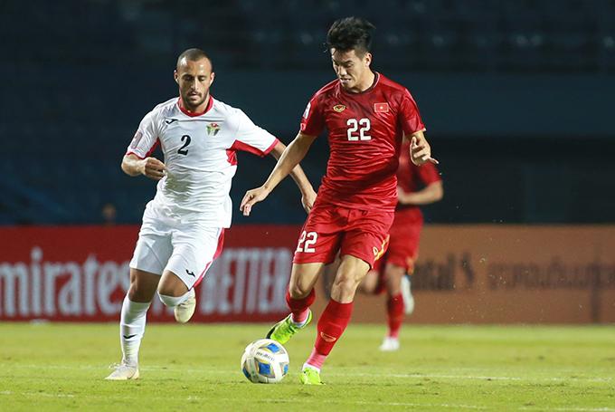 Tiến Linh và đồng đội chưa thể ghi bàn sau hai trận đấu tại giải U23 châu Á 2020. Ảnh: Lâm Thỏa.